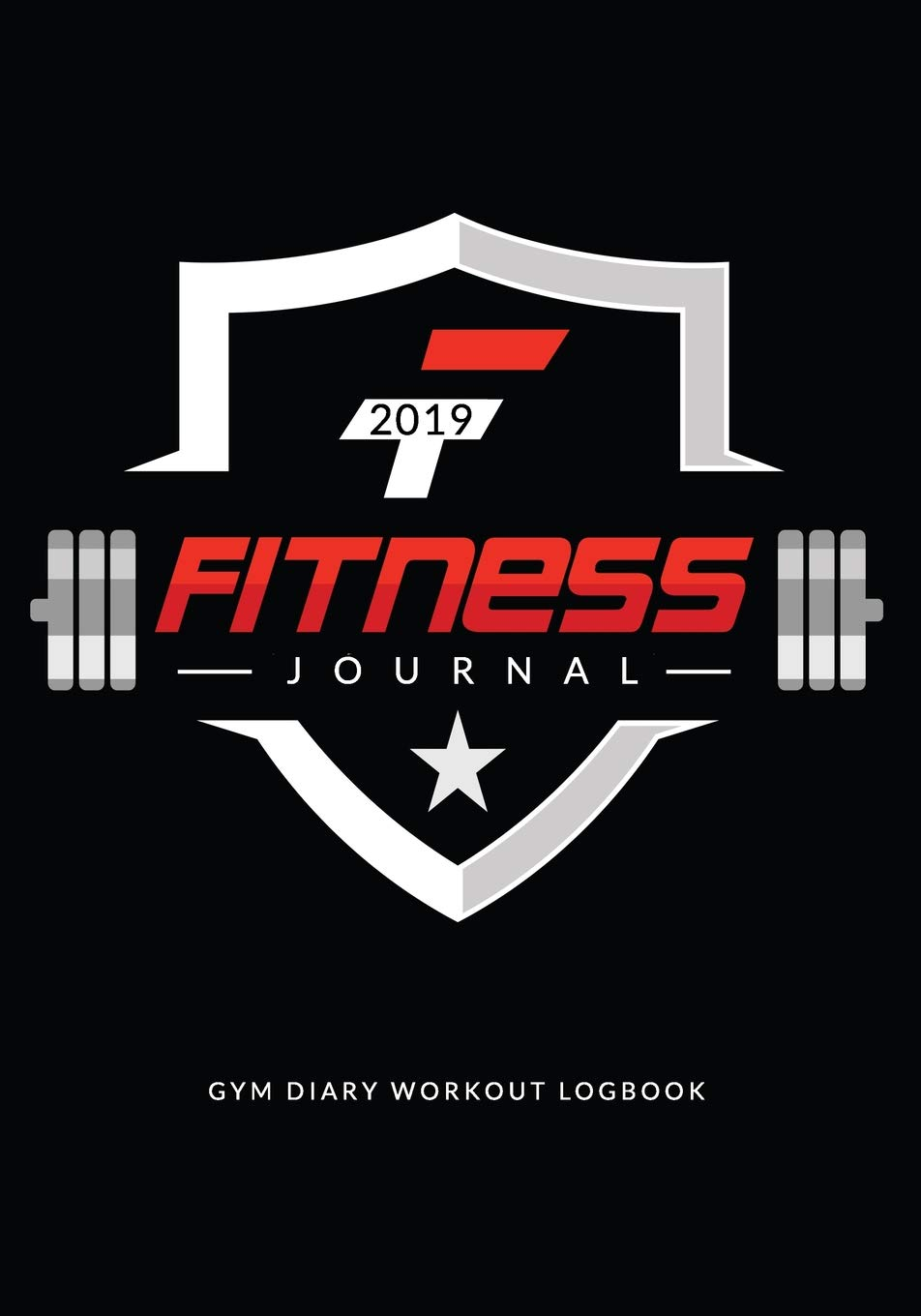 b22a01b90a88 Fitness Journal 2019   Gym Diary Workout Logbook  Track Fitness Over 100  Days