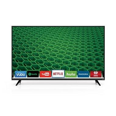 VIZIO D50-D1 D-Series 50  Class Full Array LED Smart TV (Black)
