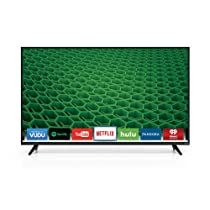 VIZIO D55-D2 D-Series 55 Class Full Array LED Smart TV (Black)