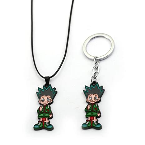 Amazon.com: Anime Hunter X Hunter llavero collares Gon ...