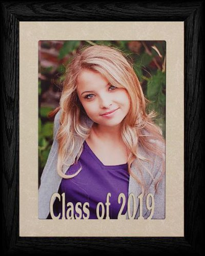 PersonalizedbyJoyceBoyce.com 5x7 Jumbo Class of 2019 Portrait Senior/Graduate School Photo Frame ~ Black Frame ~ Graduation - Gifts Graduation 2010