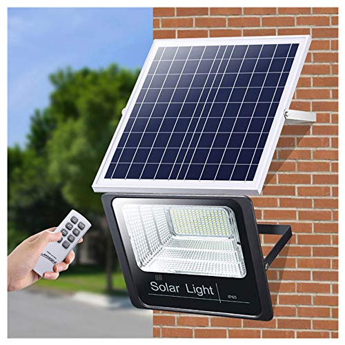 Waterproof Solar Lights,Outdoor 60W Motion Sensor Waterproof Wall Light Wireless Security Night Light for Driveway Garden Step Stair Fence Deck (Black)