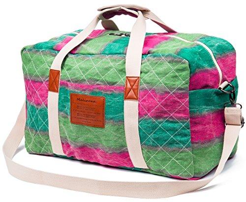 6cef4cdf23f2 Malirona Canvas Weekender Bag Travel Duffel Bag for Weekend Overnight Trip  (The wizard of oz)