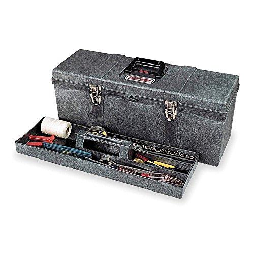 26 Portable Tool Box Charcoal Gray