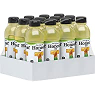 Honest Tea Organic Fair Trade Honey Green Gluten Free, 16.9 fl oz, 12 Pack
