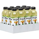 Honest Tea Organic Fair Trade Honey Green Gluten Free, 16.9 fl oz, 12 Pack