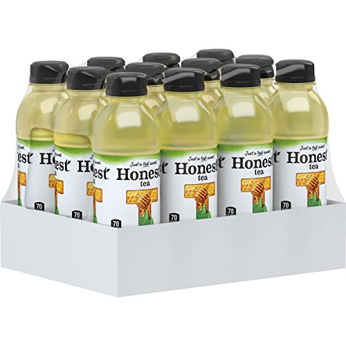 (Honest Tea Organic Fair Trade Honey Green Gluten Free, 16.9 Fl. Oz, 12 Pack)