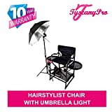 "Product review for PRESALE----# MU2R Tuscany PRO Hairstylist Chair w/ Light-5 Years Warranty-High Quality Product-25"" Seat Height-THIS IS THE MOST ELECTED CHAIR BY HAIRSTYLISTS!!"