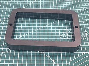 KIMME 1pcs Aluminum D7 VAT IncrediVat D7 Resin Tank Black Color Resin Tank for DIY Wanhao Duplicator 7 DIY SLA DLP 3D Printer from KIMME