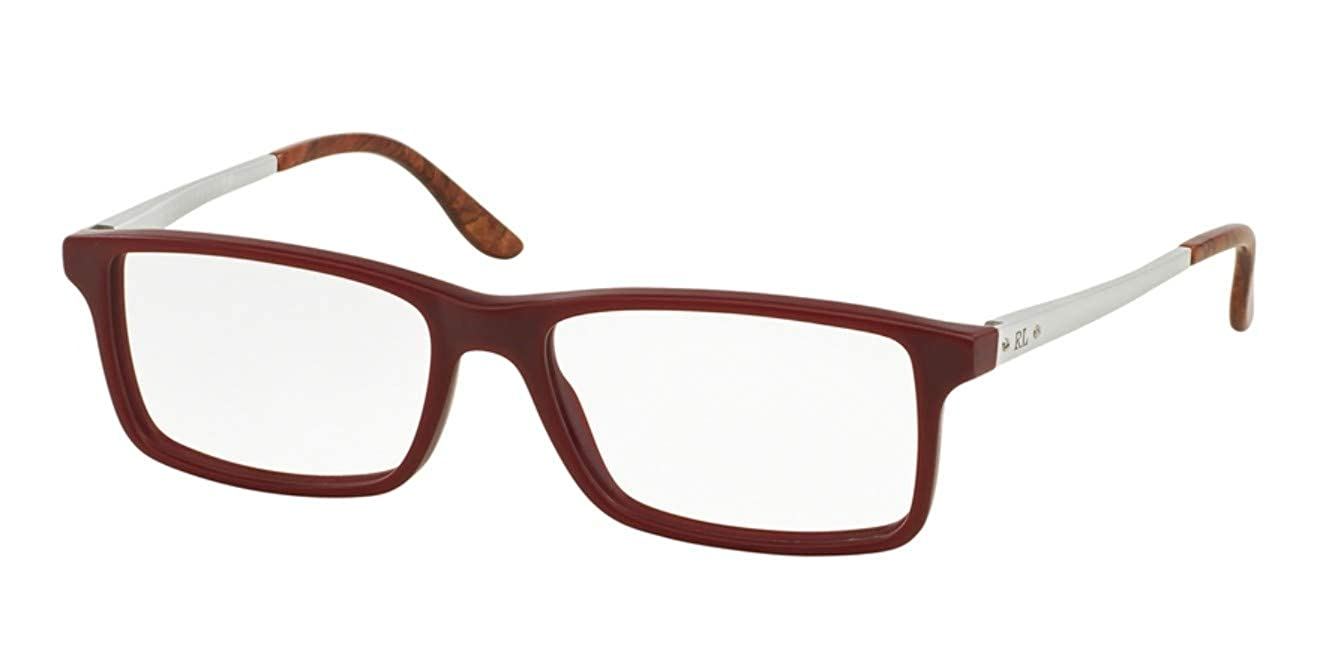 bee6a1f57740 Amazon.com: Ralph Lauren Eyeglasses RL6128 5512 Matte Bordeaux 53 16 145:  Shoes