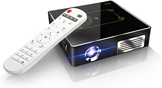 Mele & Co Mini Proyector portátil Video DLP Home Cinema Proyector ...