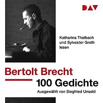Amazoncom 100 Gedichte Ausgewählt Von Siegfried Unseld