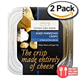 Value 2 Pack: Kitchen Table Bakers, Aged Parmesan Crisps, 3 oz.