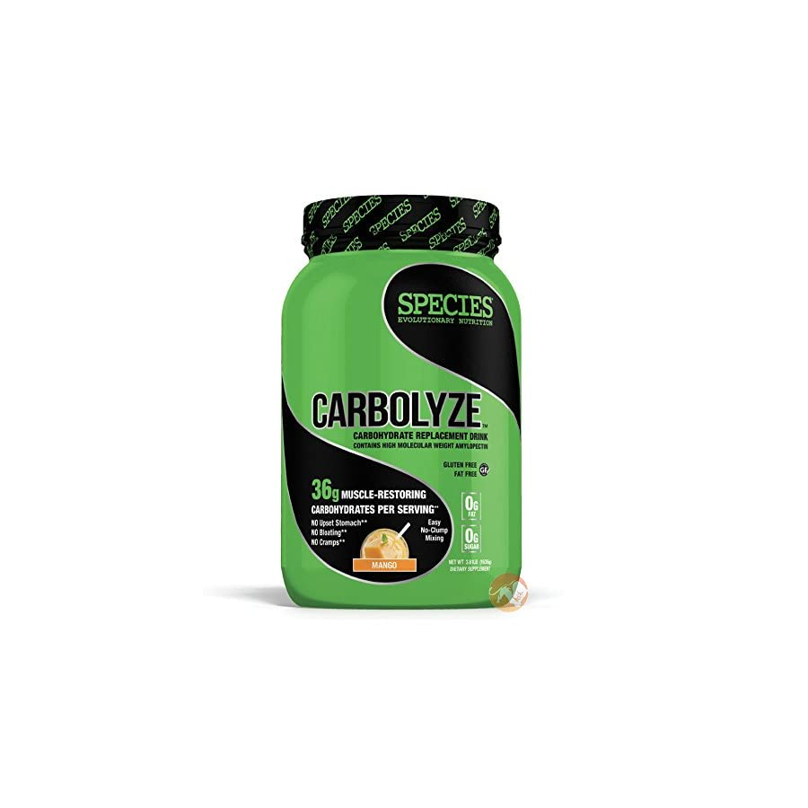 Species Nutrition Carbolyze Unflavored, 3.61 Pound