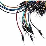 Wosang Solderless Flexible Breadboard Jumper Wires M/M 100pcs