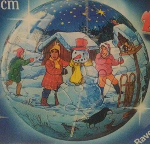 Ravensburger Christmas Ornament Puzzle Ball 60 Piece winter scene 3D