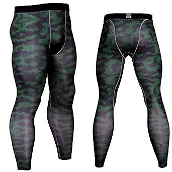 BBQBQ Pantalones de Fitness Hombres al Aire Libre Corriendo ...