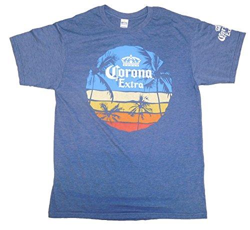 Corona Graphic T Shirt Sunset H Blue