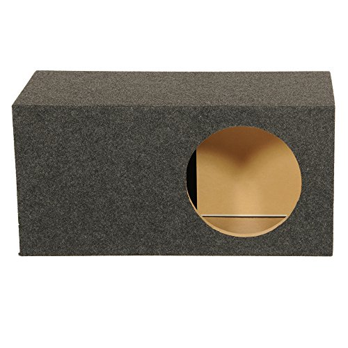 Q Power Single 12 Inch SPL XL Heavy-Duty Side Ported Subwoofer Enclosure HD112VL