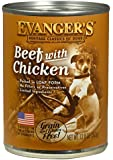 EVANGER'S 12-Pack Natural Classic Beef with Chicken Supplement for Dogs, 12.8-Ounce