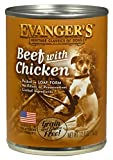Evanger'S 12-Pack Natural Classic Beef With Chicken Supplement For Dogs, 12.8-Ounce For Sale