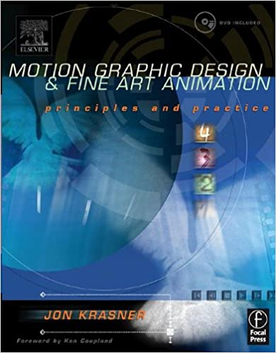 Motion Graphic Design And Fine Art Animation Principles And Practice Krasner Jon 9780240804828 Amazon Com Books