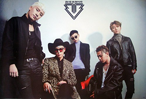 Big Bang Boy Band Kpop Wall Decoration Poster Bigbang #039
