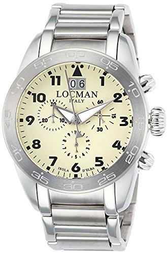 LOCMAN watch ISOLA D'ELBA 0460A04-00AVBKB0 Men's