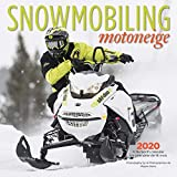 Search : Snowmobiling 2020 12 x 12 Inch Monthly Square Wall Calendar with Foil Stamped Cover by Wyman Publishing, Winter Snow Motor Sport