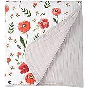 Little Unicorn Cotton Muslin Quilt - Summer Poppy