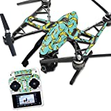 MightySkins Protective Vinyl Skin Decal for Yuneec Q500 & Q500+ Quadcopter Drone wrap cover sticker skins Bananas