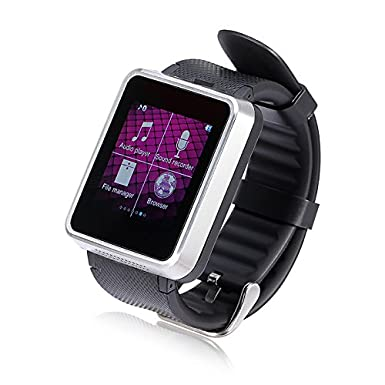 Lemfo F1 Bluetooth inteligente reloj teléfono reloj inteligente – Apoyo tarjeta SIM sincronización Smartphone llamada Función