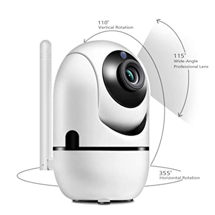 MYXMY HD 360 Degree Human Body Tracking and Surveillance