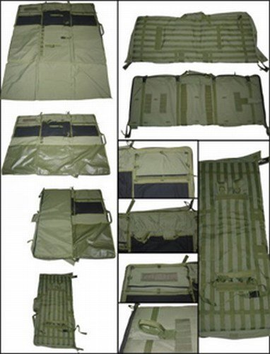 10. Barrett Drag Bag/Shooting Mat (M82A1/M107A1/M95) 82143-3