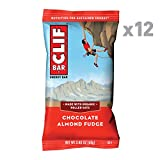 CLIF BAR - Energy Bar - Chocolate Almond Fudge - (2.4 Ounce Protein Bar, 12 Count)
