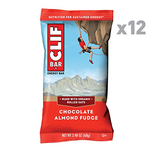 (CLIF BAR - Energy Bar - Chocolate Almond Fudge (2.4 Ounce Protein Bar, 12)