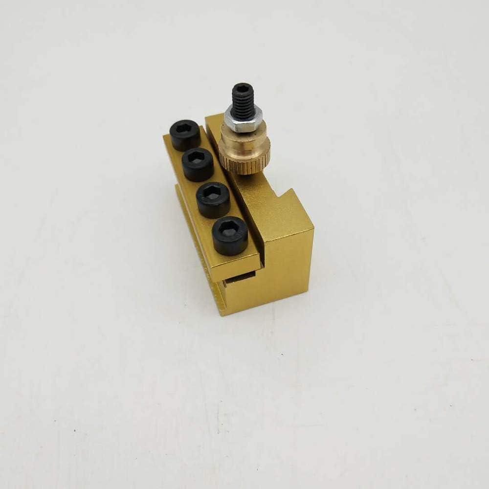 Festnight Juego de portaherramientas de tama/ño peque/ño y de cambio r/ápido Portabobinador Juego de herramientas de torneado de barras para CNC Mini Torno