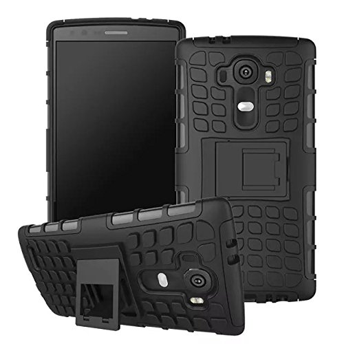 Urvoix For LG G4,Hybrid Heavy Duty Dual Layer Shock Proof Ru