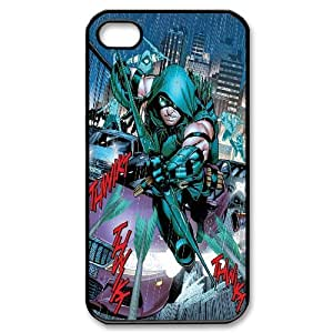 FOR Iphone 4 4S case cover -(DXJ PHONE CASE)-TV Show Green Arrow-PATTERN 5