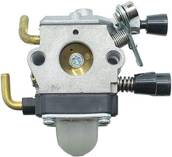 Carburador compatible con desbrozadora Stihl FS55C: Amazon.es ...
