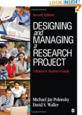 Designing and Managing a Research Project: A Business Student's Guide (Paperback)