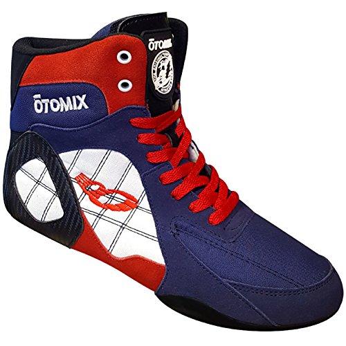 Otomix Ninja Warrior Bodybuilding Boxing Shoe Mens Red White & Blue