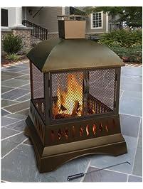 landmann grandezza outdoor fireplace