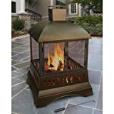 Cheap Landmann Grandezza Wood Burning Outdoor Fireplace