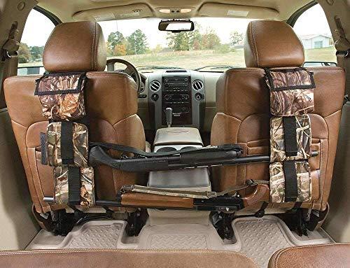 DAIXI Seat Back Gun Sling Rack,Car Seat Back Gun Sling Organizer for Rifle Hunting,Camouflage