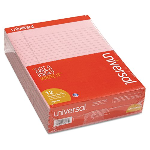 UNV35883 - Colored Perforated Ruled Writing Pad