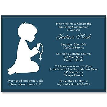 Amazoncom Communion Invitations Confirmation First Communion