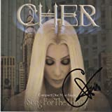 "CHER ""Song For The Lonely"" signed CD"