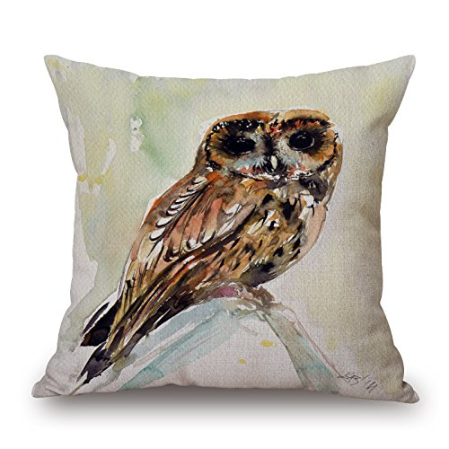 Price comparison product image Bestseason Pillow Covers 16 X 16 Inches / 40 By 40 Cm(2 Sides) Nice Choice For Bf, outdoor, home Office, kids Girls, gril Friend Bird