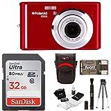 Polaroid iE826 Digital Camera, 18MP 8x Optical Zoom w/2.4 Display 32GB Bundle